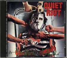 QUIET RIOT Condition Critical JAPAN 1st Press 1984 CD 35DP-174 3500yen RARE!