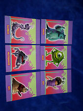 Monsters Inc - 2001 Topps - Pop Up Set Of 3 ( P1 - P6 )