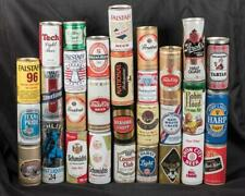 Vintage Lot of 30 Empty Beer Can amk