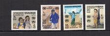 JORDANIE 1970 Y&T N°671 à 674 4 timbres neufs avec charnière /T3991
