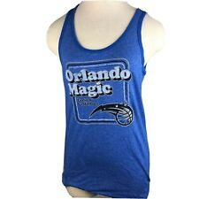 "Majestic Threads Juniors Blue Sleeveless Nba Orlando Magic Tank Top Size 2x ""O"""