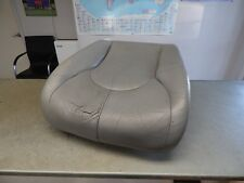 R129 SL320 SL500 SL600 LOWER BUCKET SEAT CUSHION & LEATHER 96-02 GRAY