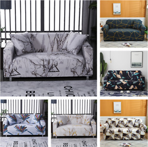 1 2 3 4 Seaters Printed Slipcover Sofa Covers Stretch Couch Furniture Protector