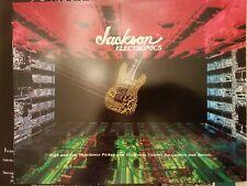 1987 Jackson Guitars and Basses Pickups & Electronics Catalog Case Candy