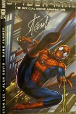 Stan Lee Signed Spider-Man: The Official Movie Adaptation
