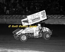 1988 Jimmy Sills World of Outlaws 11 X 14 Ascot Sprint Car Photo