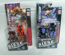 Transformers Siege Lot STORM CLOUD & VISPER POWERTRAIN & HIGH JUMP Micromasters