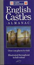 English Castles Almanac 100+ Historic Sites Travel England UK Pocket Sized 1992