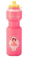 Ballerina Drink Bottle - Water Bottles - BPA Free - Huge 740mL Dance Bottle Pink