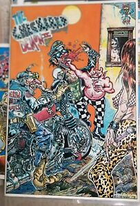 S Clay Wilson Underground Comix Lot Of 7! Checkered Demon, Bent, Pork, 2,2*2,ZAP