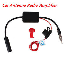 12v Car Antenna Stereo Radio FM &Am inLine Signal Amp Amplifier Built-in Booster
