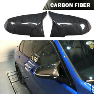 Carbon Fiber Mirrors Cover Cap Fit for BMW F20 F30 F32 F33 F36 13-17 Replacement