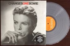 "DAVID BOWIE ""CHANGES ONE"" 40TH ANNIVERSARY CLEAR VINYL LP EDITION NEW"