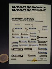 DECALS 1/24  NEW MICHELIN - VIRAGES  T162