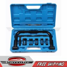 10x Valve Spring Compressor Tool Kit Set For Motorcycle Vehicle Petrol Engines