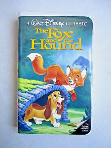 Rare Fox and the Hound VHS BLACK DIAMOND edition Walt Disney Classic 2041