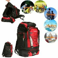 80L Outdoor Waterproof Sport Backpack Rucksack Travel Daypack Camping Hiking Bag