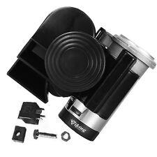 LOUD SOUND BLACK 139 DECIBELS COMPACT AIR HORN FOR CAR, BOAT, SUV, TRUCK,RV