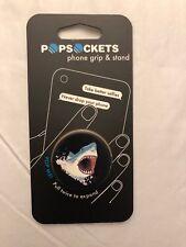 PopSockets Single Phone Grip Universal Phone Holder Shark!