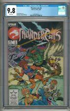 Thundercats #2 (1986) CGC 9.8 White Pages  Michelinie - Mooney - Breeding