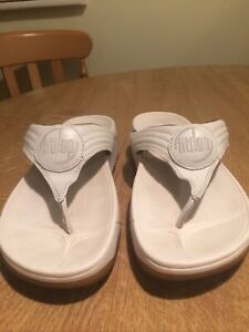 White Fitflops Size 5