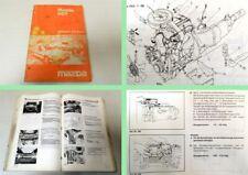 Reparaturanleitung Mazda 929 Typ HB Werkstatthandbuch 1984