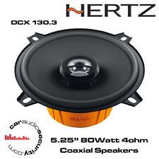 """HERTZ DCX130.3-dieci Series 5.25"""" 13cm Altoparlanti - 2 VIE COASSIALI ALTOPARLANTI AUTO"""