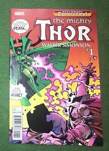 The Mighty Thor Marvel Comics Walt Simonson Halloween ComicFest 2017 vf/nm