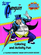 Vintage Reprint - 1984 - The Penguin Coloring & Activity Fun Cover And Mask