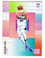 2017-18 Panini Status FOUNDATIONS PARALLEL #108 MARKELLE FULTZ RC Rookie 76ers