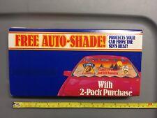 Vintage Joe Camel Cigarettes 75th Birthday Auto Windshield Sun Shade, RJRTC 1988