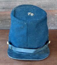 Estate Find Vintage Civil War Reenactment Cap Hat Military Uniform