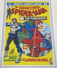 Marvel ASM Amazing Spiderman #129 Stan Lee Signed 11x17 1st Punisher Art Print