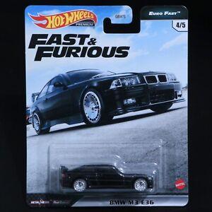 Hot Wheels - Fast & Furious - BMW M3 E36 - Premium - Brand New