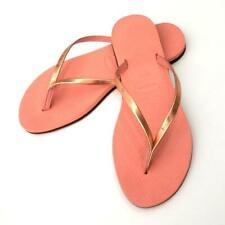 Havaianas Brazil You Metallic Light Pink Women Flip Flops Summer Shoes