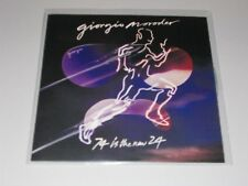 GIORGIO MORODER - 74 Is The New 24 UK 2014 RCA promo only CD test press