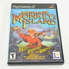 Escape from Monkey Island Sony Playstation 2 Game (Tested) 6418
