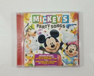 Mickeys Party Songs CD 2007 Walt Disney Records