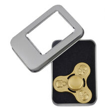 Toy Fidget Spinner Hand Spinner Lux Accessories Gold Skeleton Trendy Kids