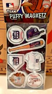 Detroit Tigers Team Puffy Magnetz magnets MLB Baseball ⚾️  Forever Collectibles