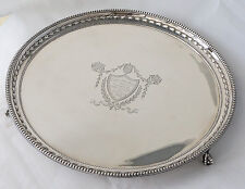 Sterling Silver Agricultural Trophy Prize Salver. Wirral Foal Show, Hooton 1901.