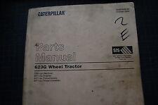 CAT Caterpillar 623G Tractor/Scraper Parts Manual Catalog book spare list 2003