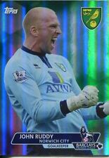 Premier calcio in oro 13/14 carta verde base PARALLELA [/ 99] #61 John Ruddy