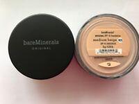 Bare Minerals SPF 15 Foundation Original - N20 Medium Beige - 8gm FIRST CLASS UK