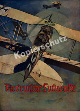 The German Air Force Enemy Aircraft AIR BATTLE WESTERN FRONT DOUBLE-DECKER Pilot MG 1917
