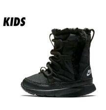 New Nike Venture (Td) Toddler Boot Black Fur (Aq9495-001) Sz 5C