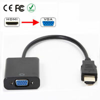 HDMI Male to VGA Female Video Adapter Cable Converter 1080P Built-in Chipset XX