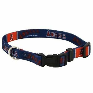 Anaheim Angels MLB (X-Small adjustable 8.5 -11.75 inch) Nylon Pet Dog Collar