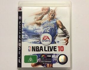 EA SPORTS NBA LIVE 10 - PLAYSTATION 3 - Electronic Arts - LIKE NEW CONDITION!!