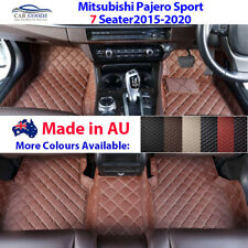 AU Made 3D Customised Floor Mats Multi-Colours Mitsubishi Pajero Sport 2015-2020